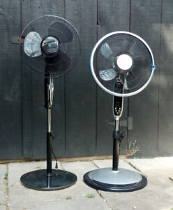 16-Inch Oscillating Pedestal Fans ($30 for both)