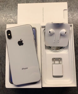 Like new iPhone X (64gb) Silver