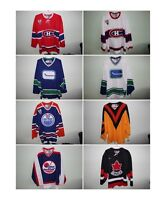 Authentic NHL and Olympic Vintage Jerseys CCM and Nike