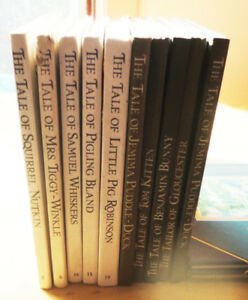BOOKS 10 VOLUMES OF BEATRIX POTTER BOOKS