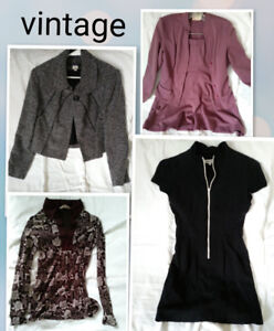 Interesting Collection of Vintage & Brand Name Women's Clothing