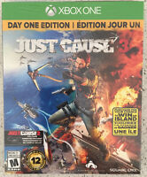 Just Cause 3 Day One Edition - New & sealed before release date!