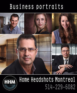 Mobile studio for business headshots / portraits West Island Greater Montréal image 2