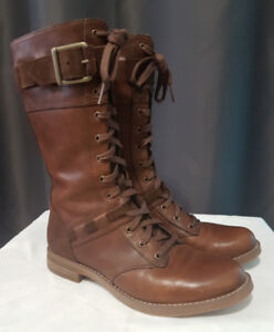 Timberland Savin Hill Mid Leather Boots in Brown