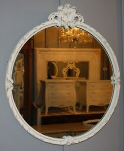 BEAUTIFUL ROUND ANTIQUE MIRROR
