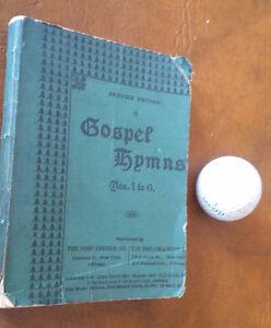 Gospel Hymns Nos. 1 to 6, 1895 Kitchener / Waterloo Kitchener Area image 1