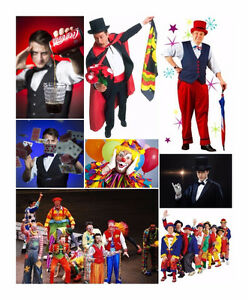 COMEDIAN MAGICIAN CLOWN ENTERTAINERS FOR KIDS