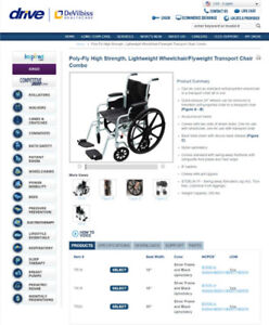 Wheelchair - Used Once - Basically Brand New