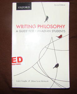 Writing Philosophy:A Guide for Canadian Students by Lewis Vaughn