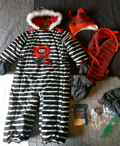 One-piece snowsuit Souris Mini 30 months (2 years)