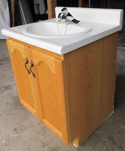 Bathroom Vanity w/ sink & faucet