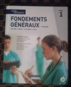 Soins infirmiers - Livres et manuels 1ᵉʳ session collégial/cégep