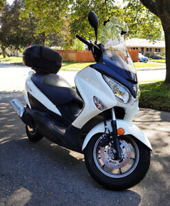 2014 Suzuki Burgman 200 ABS  Scooter - Excellent Condition