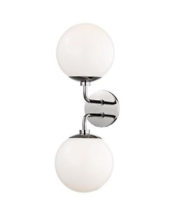 Brand New Mitzi Lighting Stella Wall Sconce in Polished Nickel