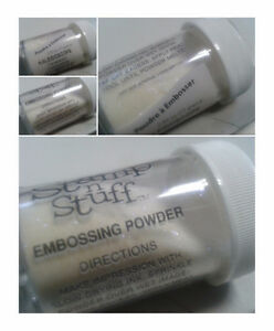 Embossing Powder for scrapbooking, crafts, cards, art
