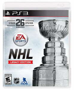 NHL 16 Legacy Edition Playstation 3 PS3 (BRAND NEW + SEALED)