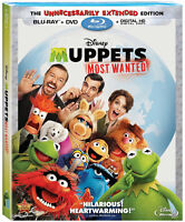 The Muppets and Muppets Most Wanted Blu-ray combo packs