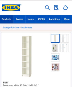 ISO looking for this ikea billy bookcase