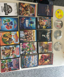 Over 20 DVD MOVIES FOR KIDS -$5 -$15 each