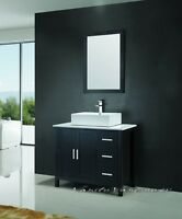 ⎷⎛Contemporary Bathroom Vanity & Cabinet Blazing Jewel BB36