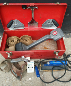 Carpet Installer tools-Kicker Seaming Iron Roller Cutters & More