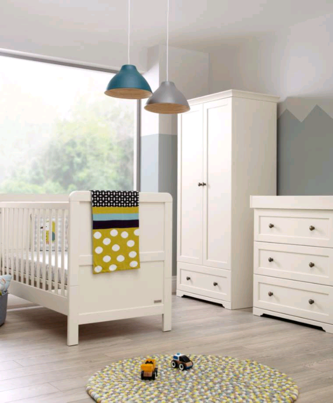 NOW SOLD Mamas And Papas SIENNA White Ivory Nursery Furniture Set Baby | In  Deeping St James, Cambridgeshire | Gumtree