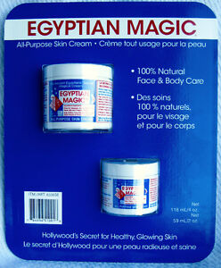 Egyptian Magic Skin Cream, 6oz, 100% Natural Face & Body Care!