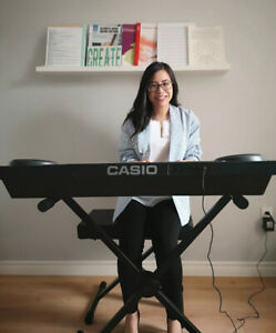 In home piano lessons for Burlington and Oakville