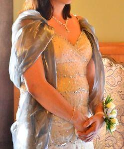 robe de bal ou dame d'honneur ou mariage