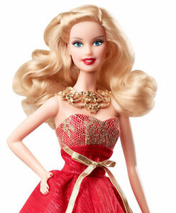 Barbie Holiday 2014 Collector Doll with Ornament NEW London Ontario image 1