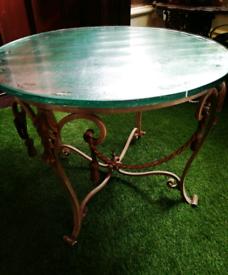 Ornate Vintage Coffee Table