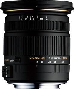 Sigma DC 17-50mm f2.8 - Nikon