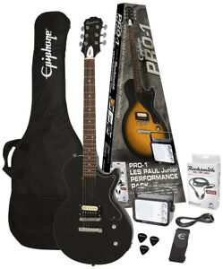 Epiphone Pro 1 Les Paul Junior Performance Guitar Starter Pack
