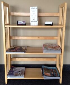Oak Bookcases, Birch Shelving Units, & other office furniture