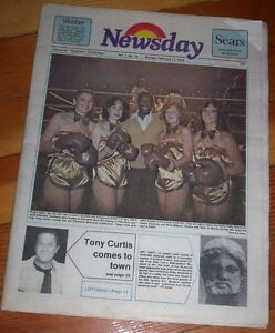 original Kitchener Waterloo Cambridge NEWSDAY NEWSPAPER 1979