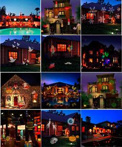 Projector Light Waterproof Landscape Light w/ 12 Patterns