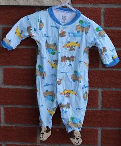 3m onesie pyjamas - Lot of 6