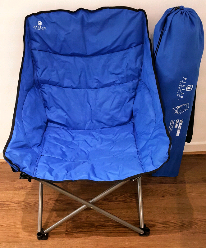Luxury Camping Chair - Hi Gear Vegas King from Go Outdoors | in Stevenage,  Hertfordshire | Gumtree