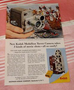Publicité magazine #30 Kodak 1958