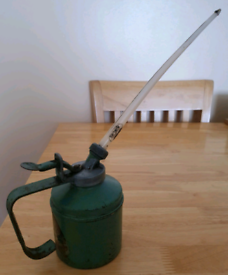 Wesco oil can vintage