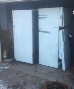 Free pick up scrap metal refrigerator freezer washer dryer