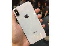 Apple iPhone X 64GB Unlocked Silver/White Swaps