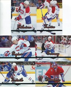 CARTES DE HOCKEY * 2005-06 Fleer Ultra * Set complet (1-200)
