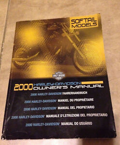 Harley Davidson 2000 Softail Models Owners Manual