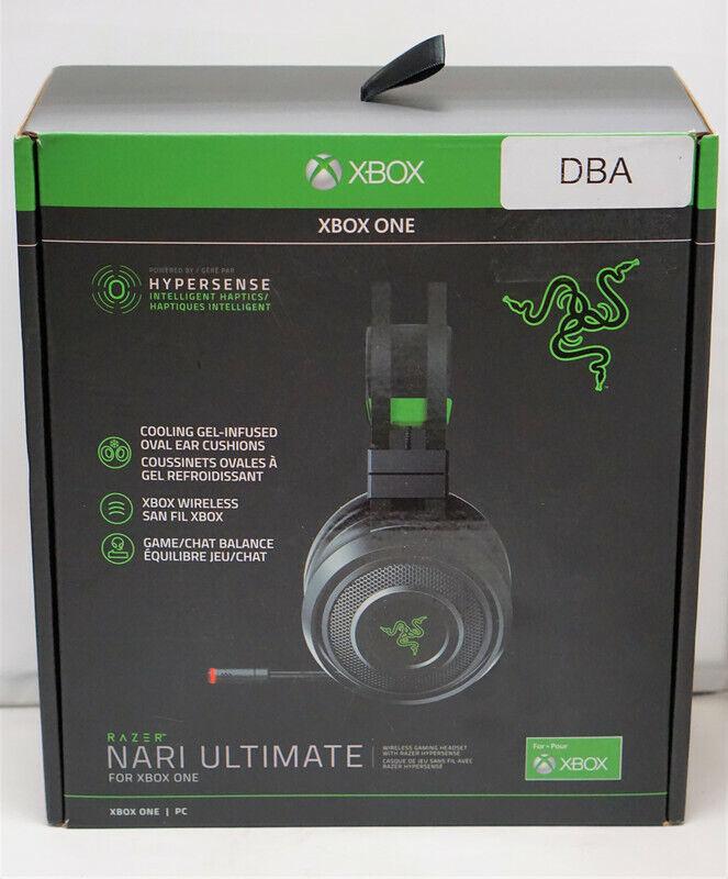 Razer Nari Ultimate Xbox One Wireless 7.1 Surround Sound Gaming Headset