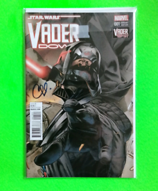Star Wars Comic - Vader Down 001 / Signed by Clay Mann