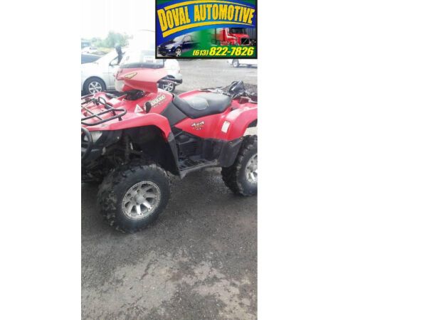 Used 2005 Suzuki LT A 700X 4x4 KING Quad 613-822-7826 or 613-220-80