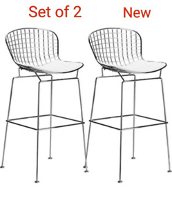 Modern Wire Barstool- Set of 2/NEW