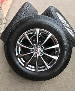 Infiniti Rims & Winter Tires, 265/60R18 110T Michelin 95% Tread