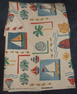 Vintage Upholstey Fabric Exclusive Print By Gummerson Fabrics